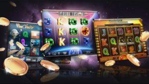 Bisa ditemukan di Playstore Judi Slots: Free Slot Machines Seru!