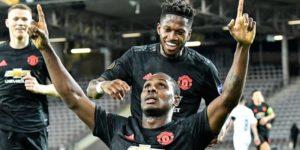 Manchester United Bungkam LASK 5-0
